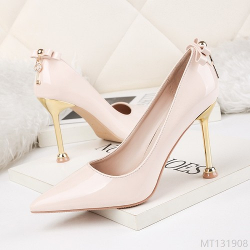 2020 new fashion pointed rhinestone high heels nightclub sexy