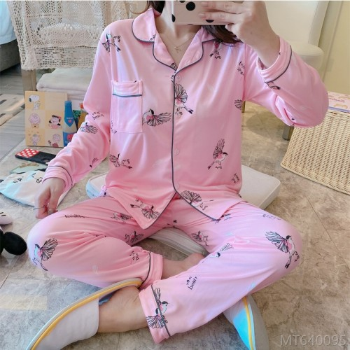 2020 new spring and autumn home service suit pajamas/home service cover