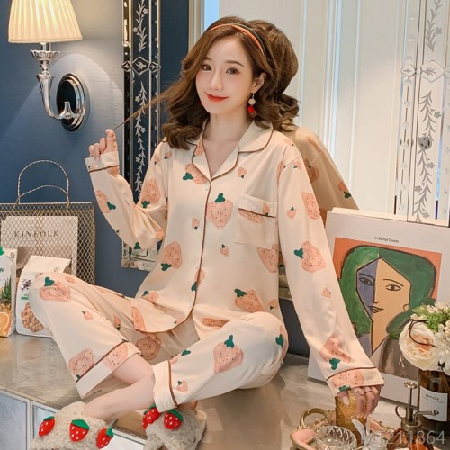 2020 new milk silk fashion pajamas/home service suits