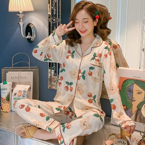 2020 new milk silk fashion pajamas/home service sets