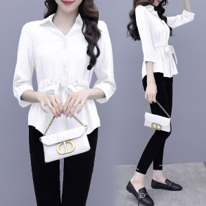 2020 new fashion, light mature temperament, thin and small pants two-piece suit