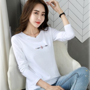 2020 new autumn fashion Korean loose long sleeve T-shirt