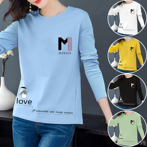 2020 new hot style fashion all-match bottoming women's T-shirt