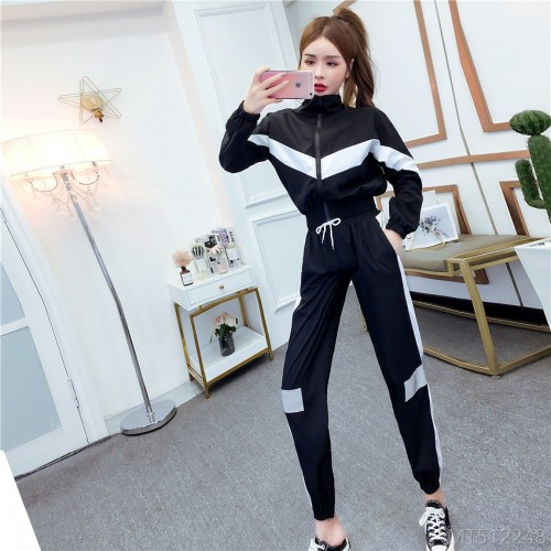 2020 new sports suit two-piece autumn fashion suit