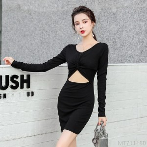 2020 new V-neck strappy bottoming skirt short skirt bag hip sexy