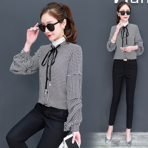 2020 new new plaid shirt women spring clothes