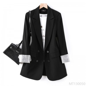 2020 new casual professional goddess Fan Korean women's solid color suit