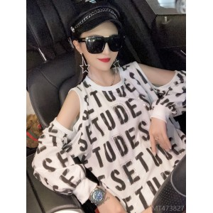 2020 new coat large version loose mid-length hot drilling long sleeve