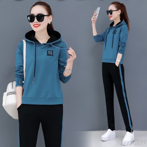 2020 new Korean style hooded pullover loose plus size sweater