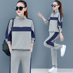 2020 new Korean style early autumn western style loose casual spring and autumn clothes two