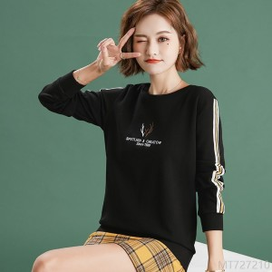2020 new Korean style thin t-shirt top ins live broadcast