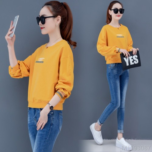 2020 new short Korean version loose capless ins thin top