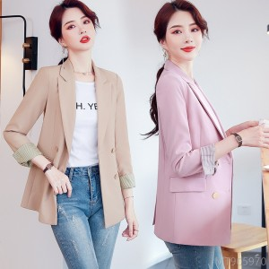 2020 new mid-length autumn and winter fashion Korean version of the net red slim