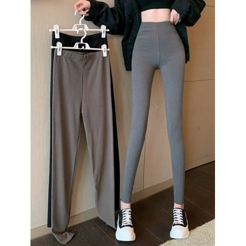 2020 new new year fashion autumn and winter tight-fitting leggings women's outer wear all-match slim slimming stretch leisure