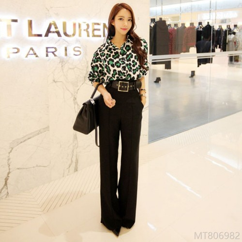 2020 new new casual wide-leg pants autumn fashion women
