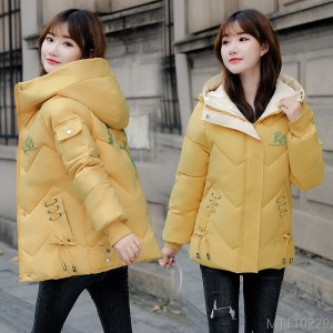 2020 new thick down jacket version loose padded jacket coat cotton/cotton