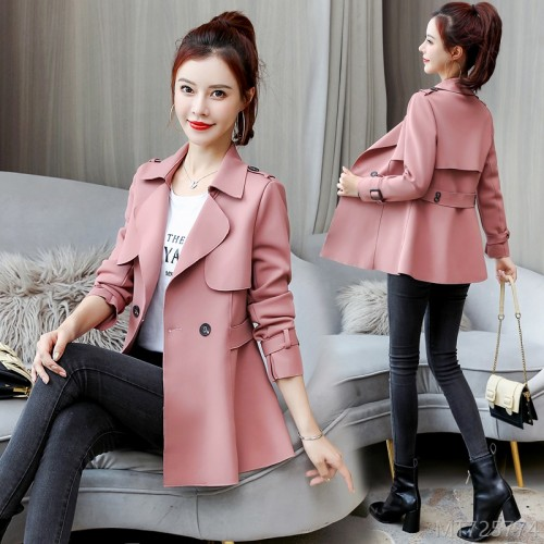2020 new autumn coats, fashionable and all-match foreign style autumn and winter short