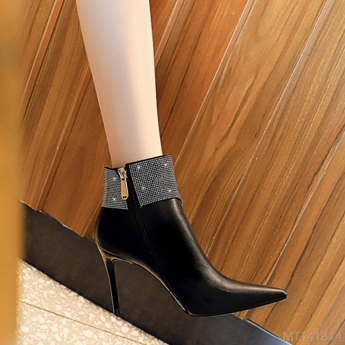2020 new fashion slim sexy party women's boots stiletto