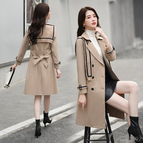 2020 new casual slim temperament thin coat coat