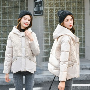 2020 new short stitching long sleeves all-match winter looks thin