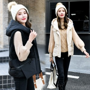 2020 new new hooded personality, versatile, age reduction, loose fashion