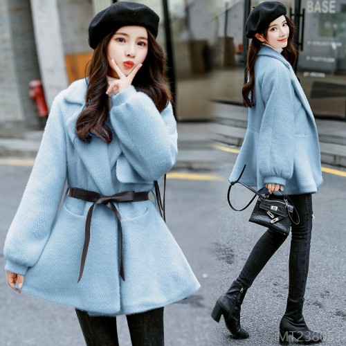 2020 new thermal short woolen coat woolen coat