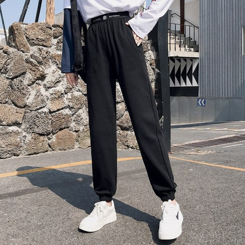2020 new loose and versatile students are thin and trendy hip hop casual pants