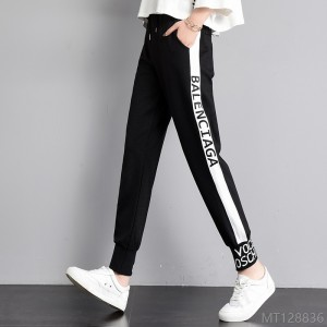 2020 new loose bf casual pants wild harem pants cotton blend