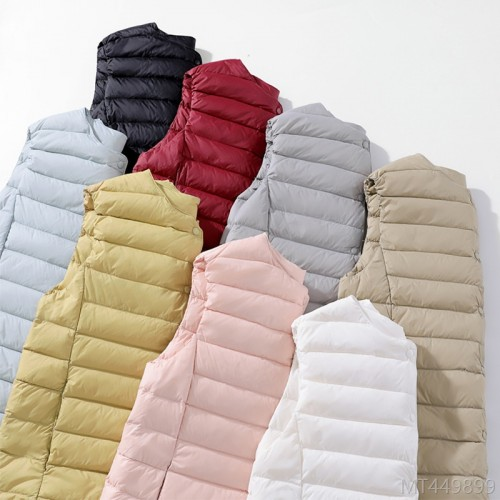 2020 new vest liner women's light and fashionable down jacket short vest