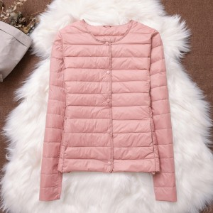 2020 new new liner light and thin down jacket women short