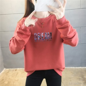 2020 new letter thin long-sleeved sweater for female students autumn fashion