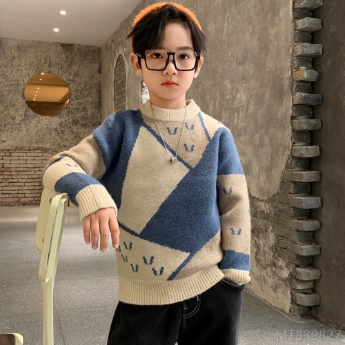 2020 new children's Korean version of the big children's autumn and winter sweater