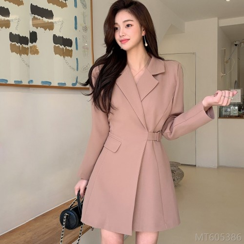 2020 new temperament collar waist slimming fashion simple professional suit jacket