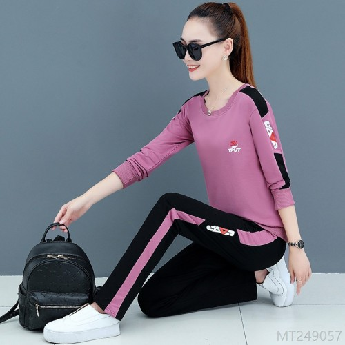 2020 new cotton fashion sports suit women spring and autumn fashion