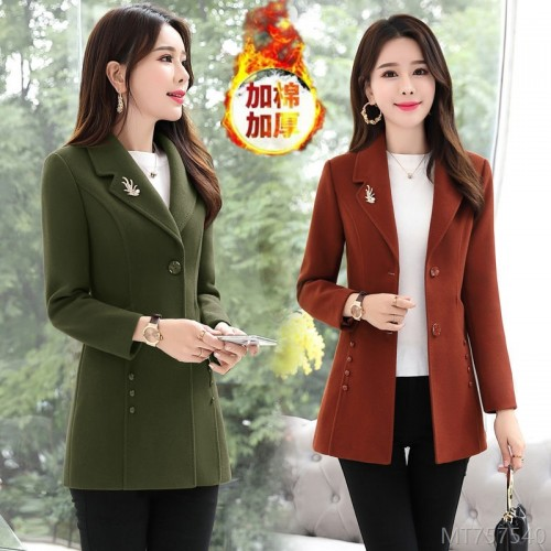 2020 new small slim slimming woolen coat all-match