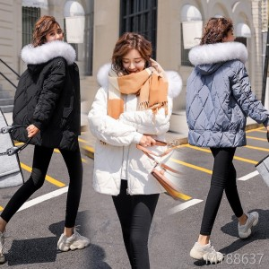 Joker long-sleeved down jacket 2018 winter comfortable warm simple personality slim