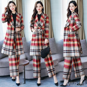 2018 winter long suit warm and comfortable slim slimming