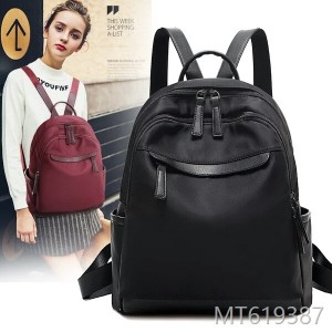 2018 new Korean version of tide Oxford cloth canvas fashionable casual leisure lady travel bag