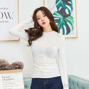 2018 women's shirts, T-Shirts, Korean fashion, twisting sexy tops.