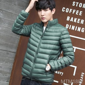 2018i Thickened Men's Korean Light Cotton Jacket Jacket and Slim Cotton Clothing