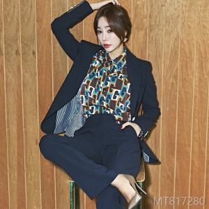 2008 Autumn-Winter Korean version of temperament and self-cultivation suit jacket slim professional trousers suit