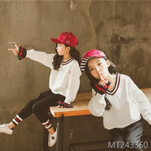 2008 Korean version children's suit fashion V-neck long sleeve children's suit