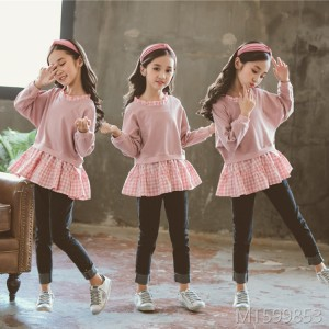 The new Korean fashion clothes of 2018 are two sets of fashionable and fashionable children's jeans