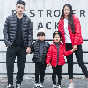 Fall and Winter 2018 New Kids'Clothes Boys and Girls' Cotton Clothes Children's Light Down Cotton Clothes