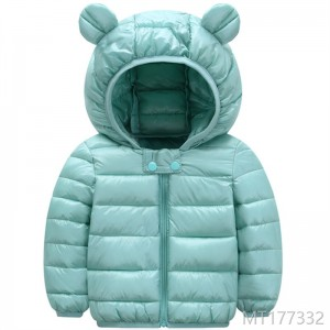 Boys and Girls Down Cotton-padded Babies Short-style Cotton-padded Jacket for Children in Autumn and Winter