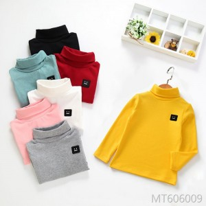 New Baby Long Sleeve T-shirt for Children, Boys and Girls in Autumn and Winter