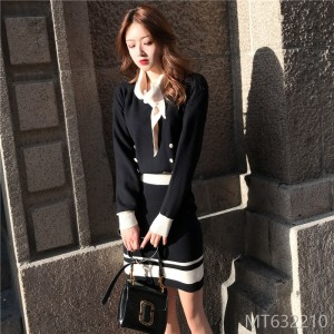 2011 sweater skirt two-piece witty harbor style early autumn suit