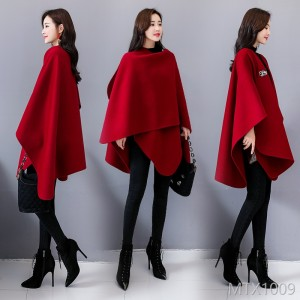 Mid-long woolen jacket for winter 2019