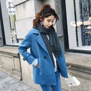 The new woolen jacket for autumn and winter of 2019 is short, medium and long.