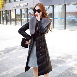 New Winter Garments, Large Size, Thickened Big Fur Necks, Medium and Long Style